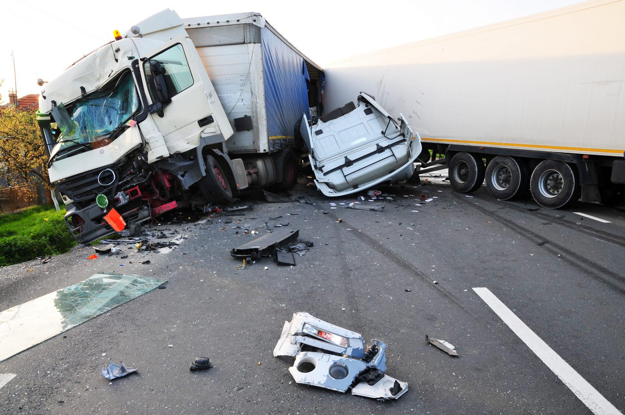 Accidente de trailer