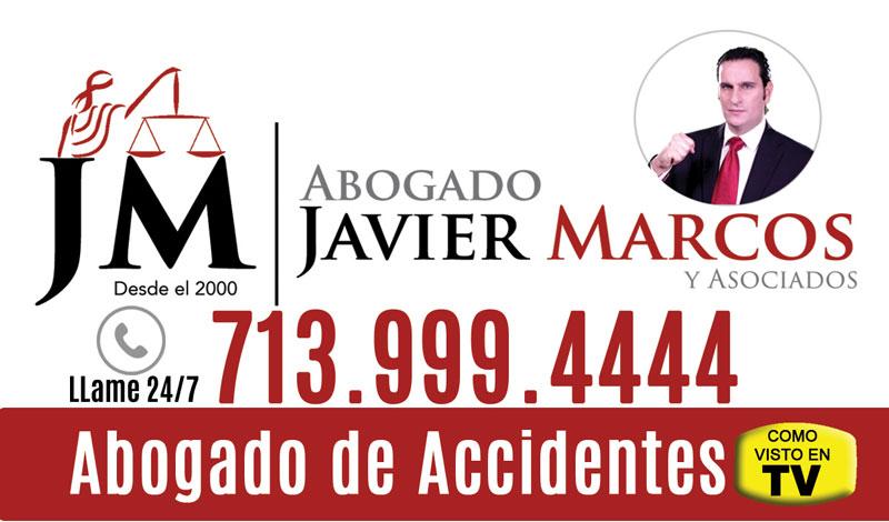 Accidente? Llame al Abogado Javier Marcos