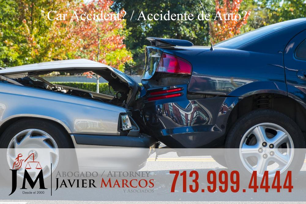 Caso de accidente | Abogado Javier Marcos