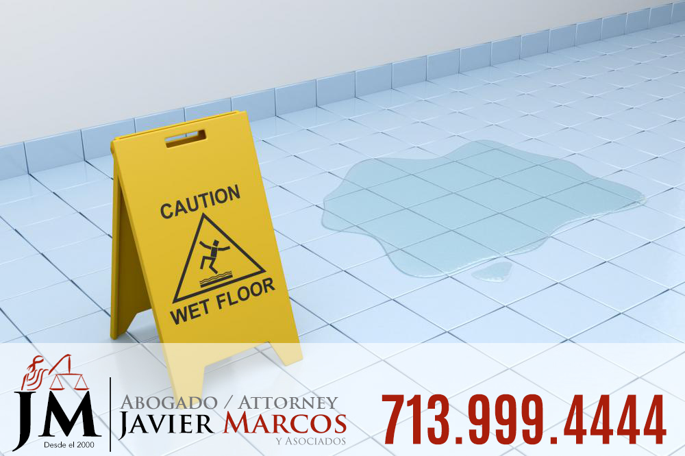 Resbalon y caida | Abogado Javier Marcos 713.999.4444