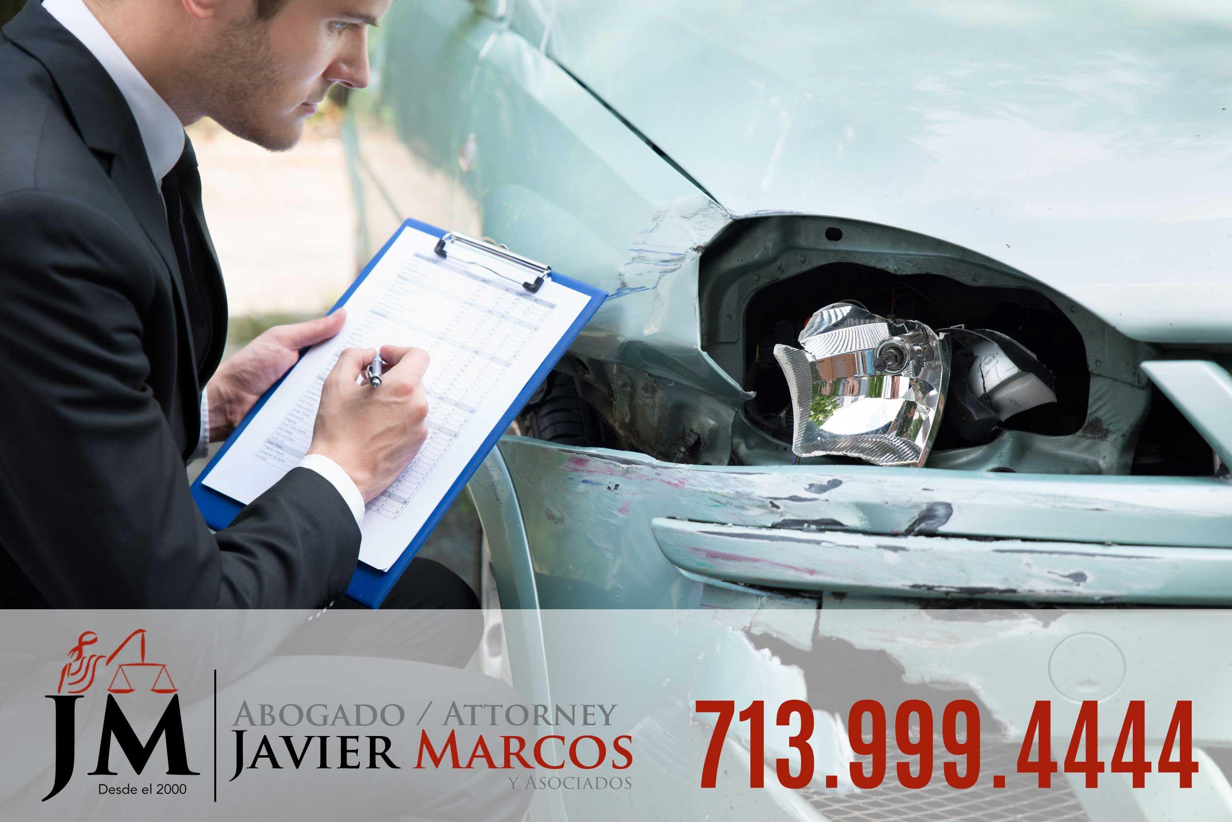 Seguro de accidente de carro   Abogado Javier Marcos 713.999.4444