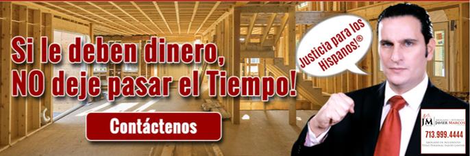 Lien en construccion | Abogado Javier Marcos 713.999.4444
