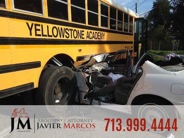 Accidente en zona escolar | Abogado Javier Marcos 713.999.4444