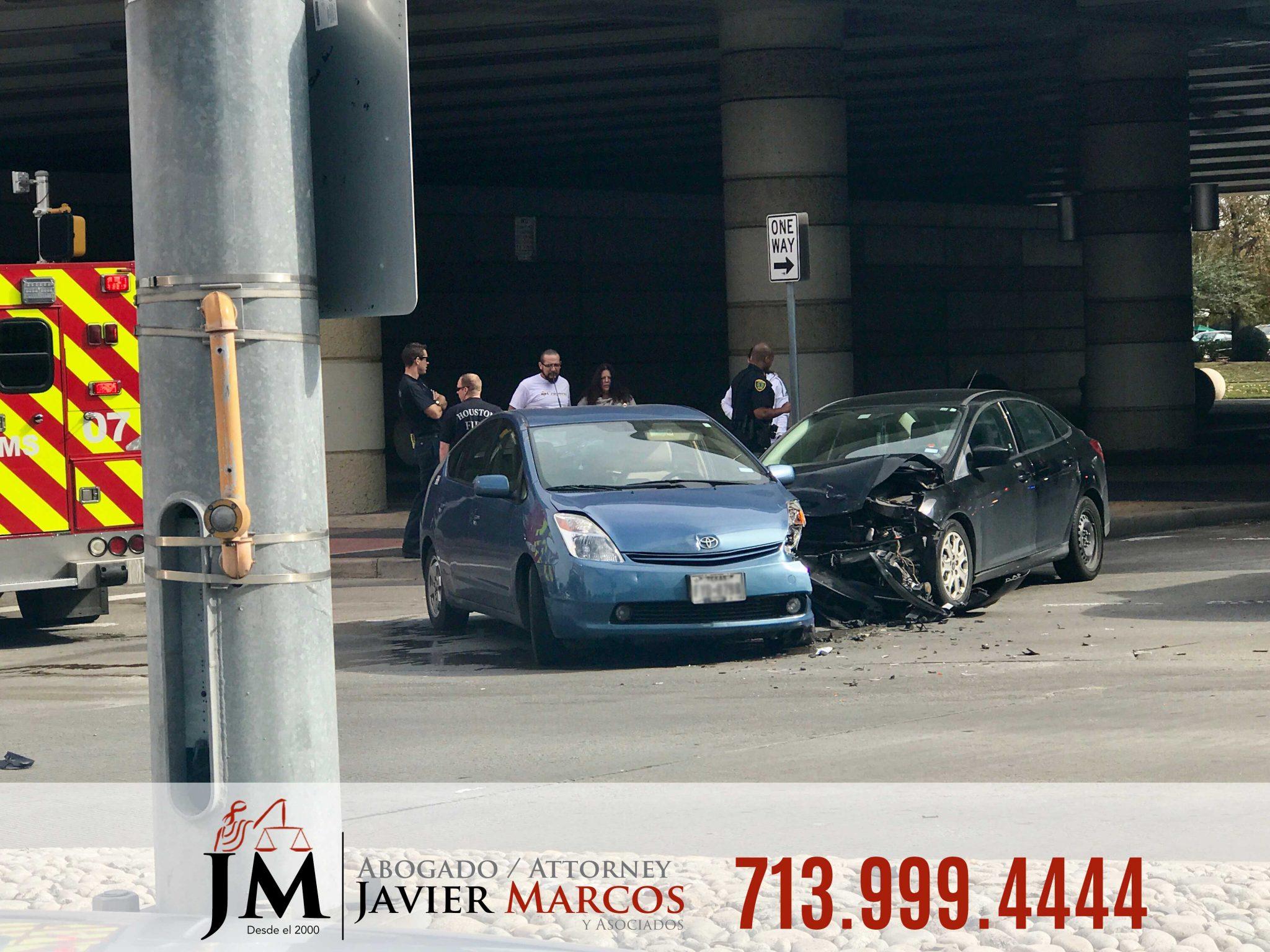 Abogado de Accidentes automovilisticos | Abogado Javier Marcos | 713.999.4444