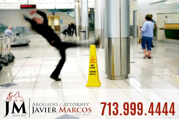 Accidente de resbalon y caida   Abogado Javier Marcos