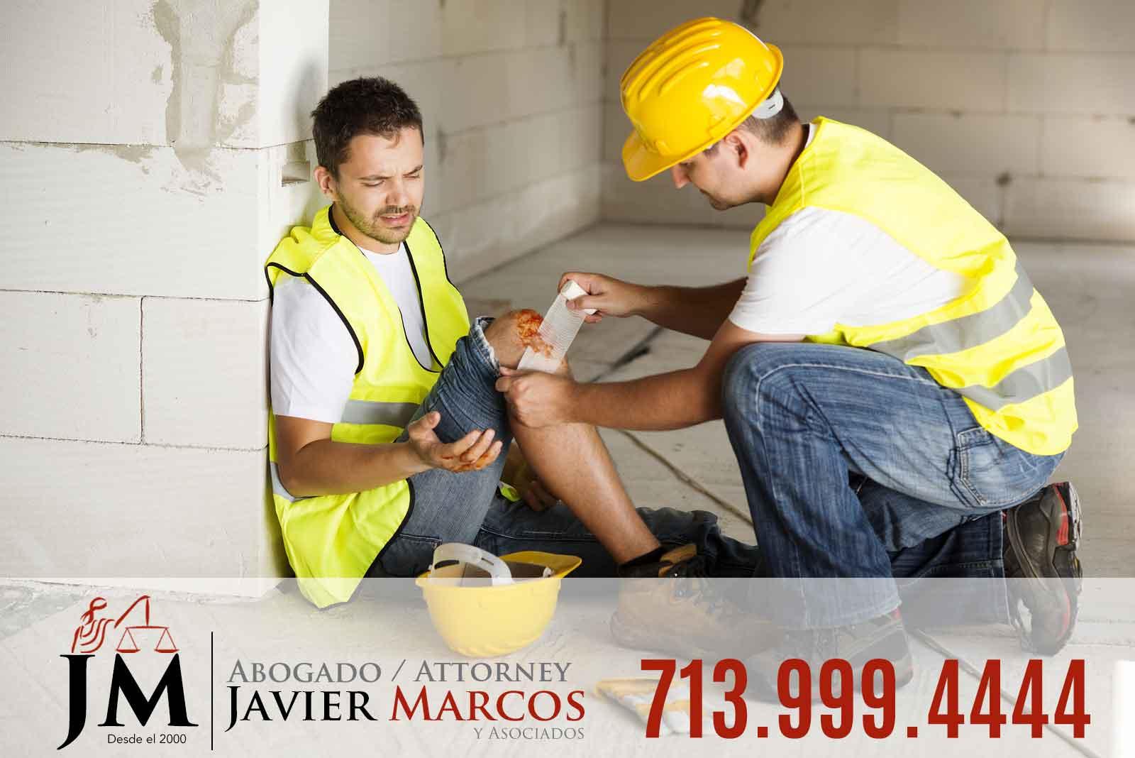 Abogado Accidente Trabajo | Abogado Javier Marcos | 713.999.4444