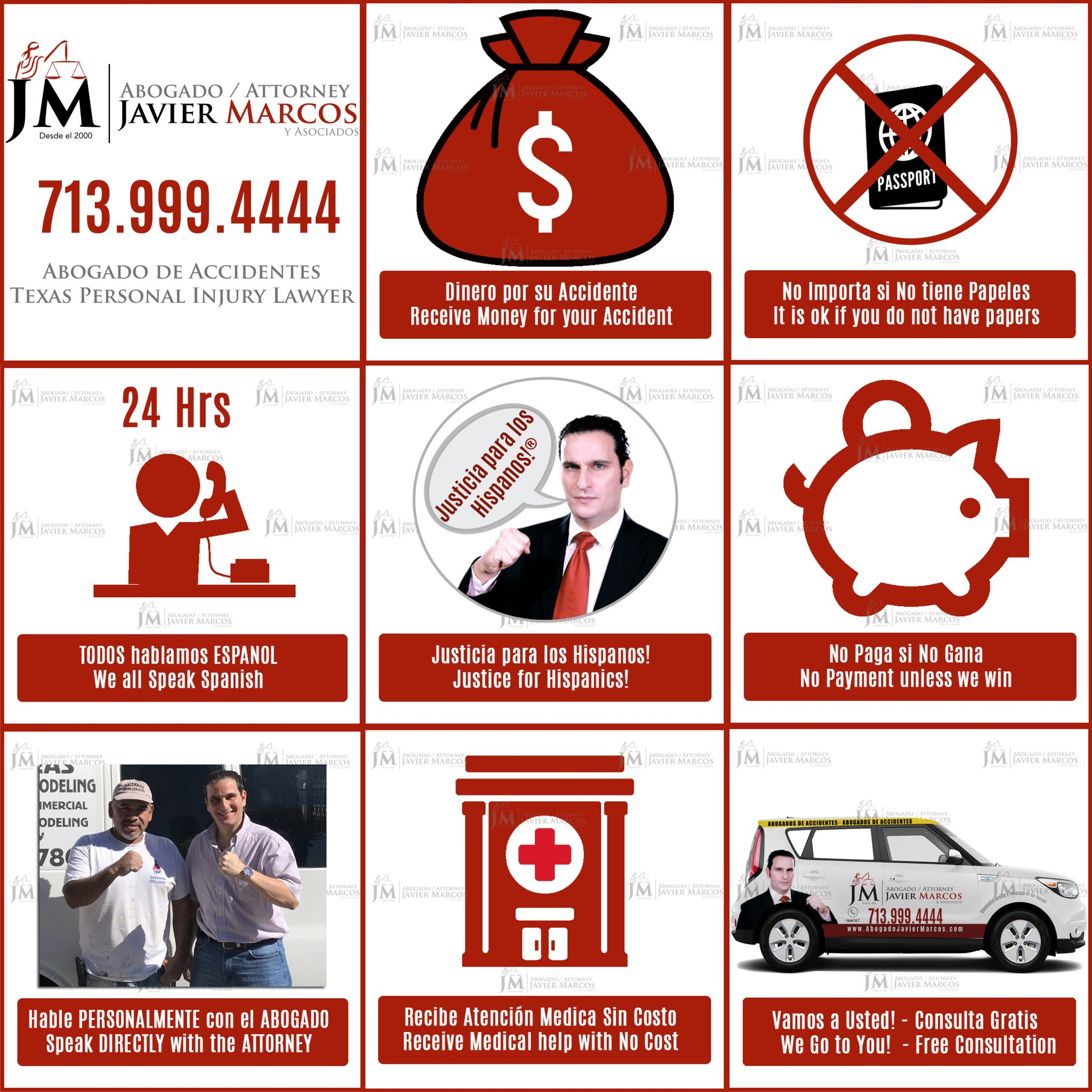 Abogado Javier Marcos - Abogado de Accidentes