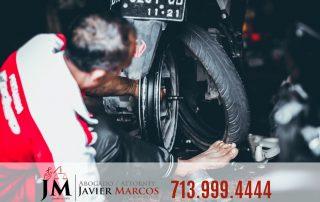 Defectos en motocicleta | Abogado Javier Marcos | 713.999.4444