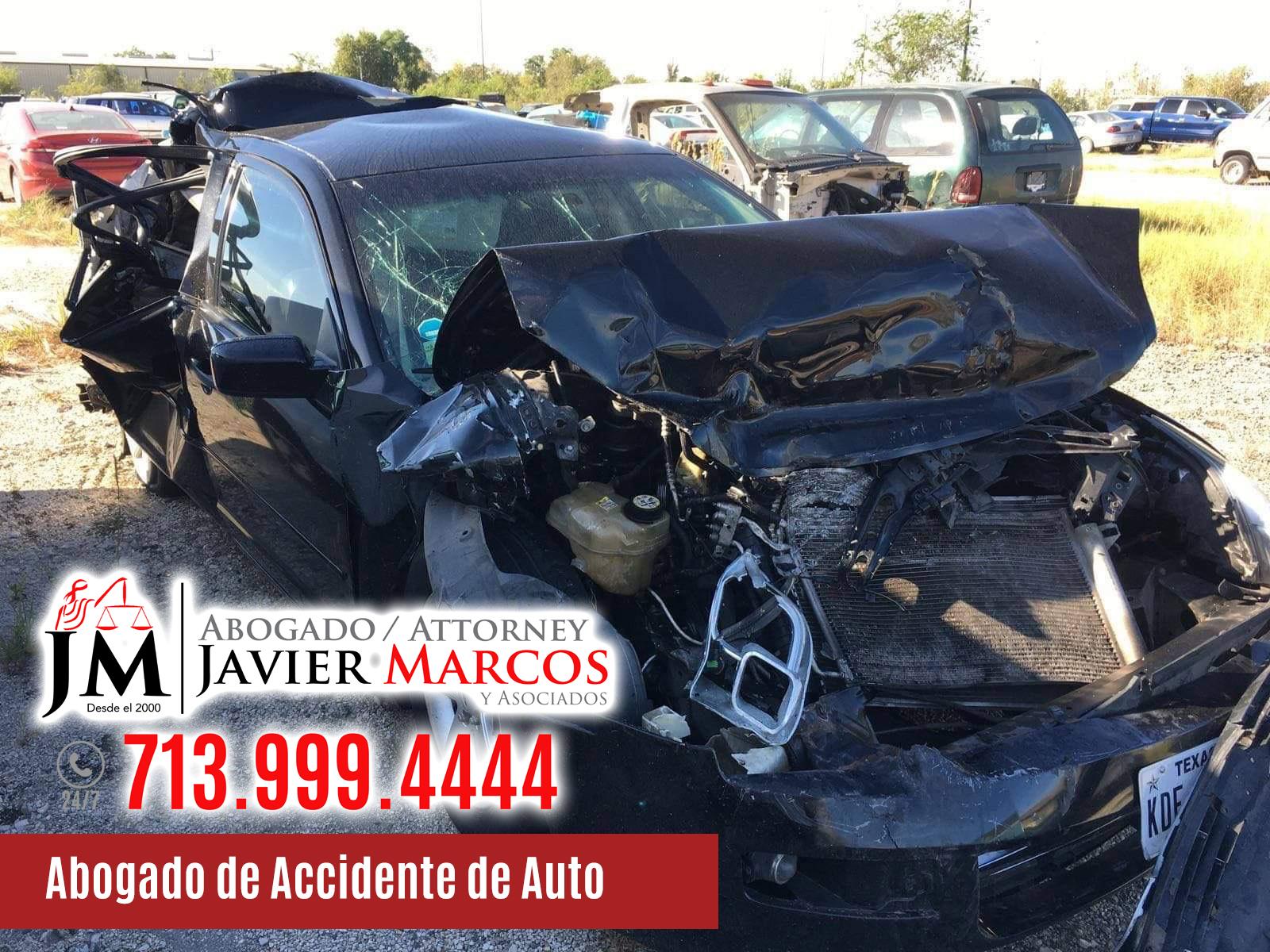 Abogado de Accidente de Auto   Abogado Javier Marcos