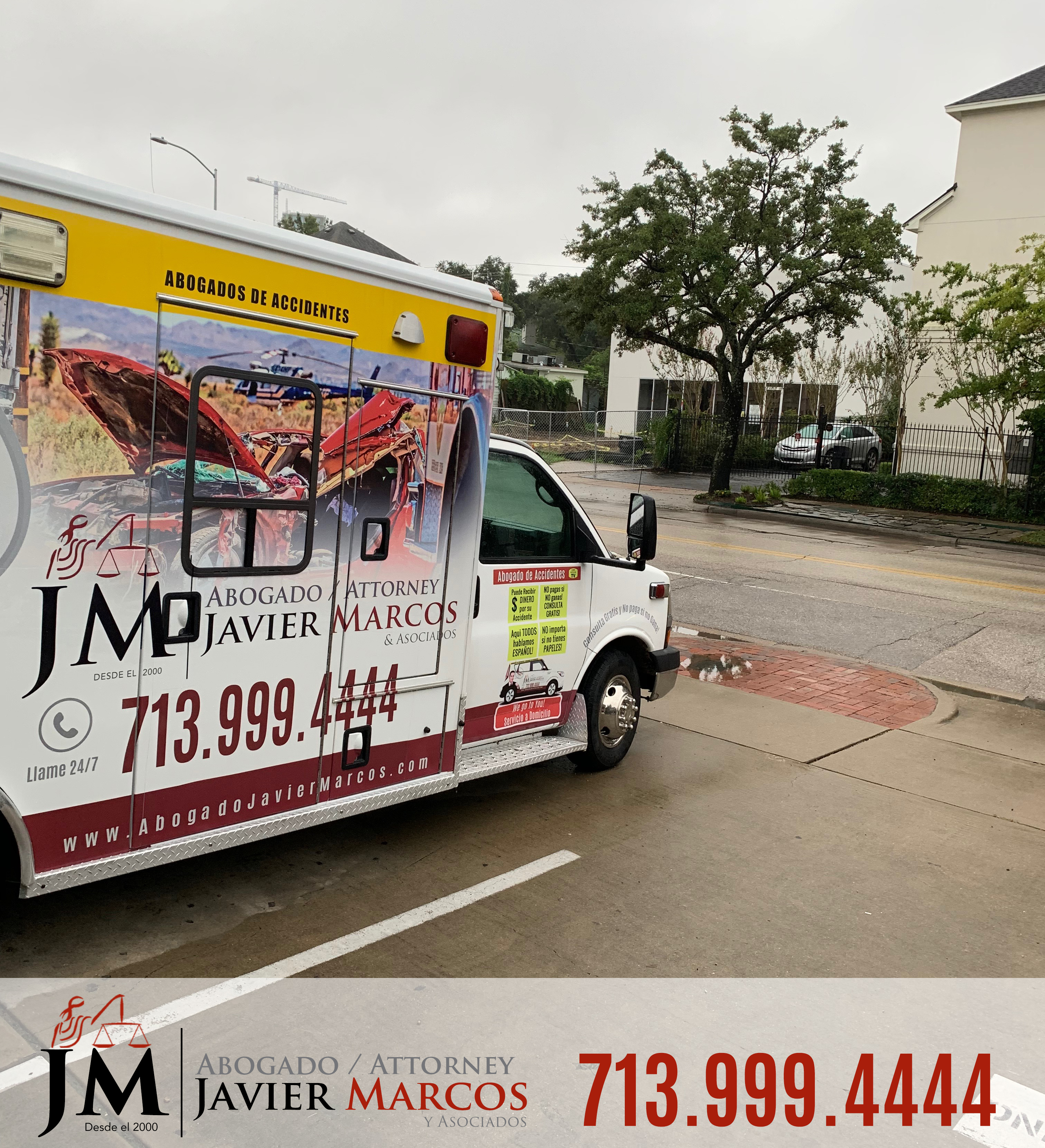 Abogado de Accidentes en calles | Abogado Javier Marcos | 713.999.4444