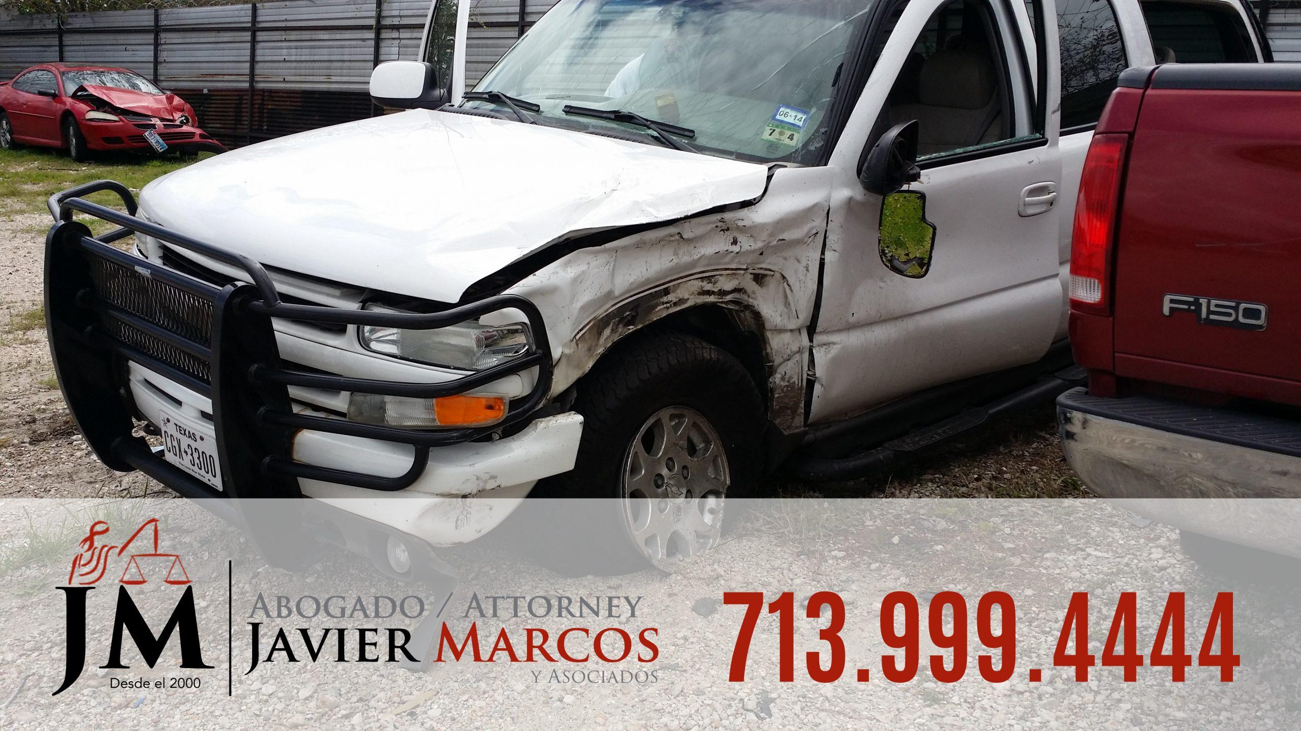 Lesiones Personales y Danos a la propiedad | Abogado Javier Marcos | 713.999.4444