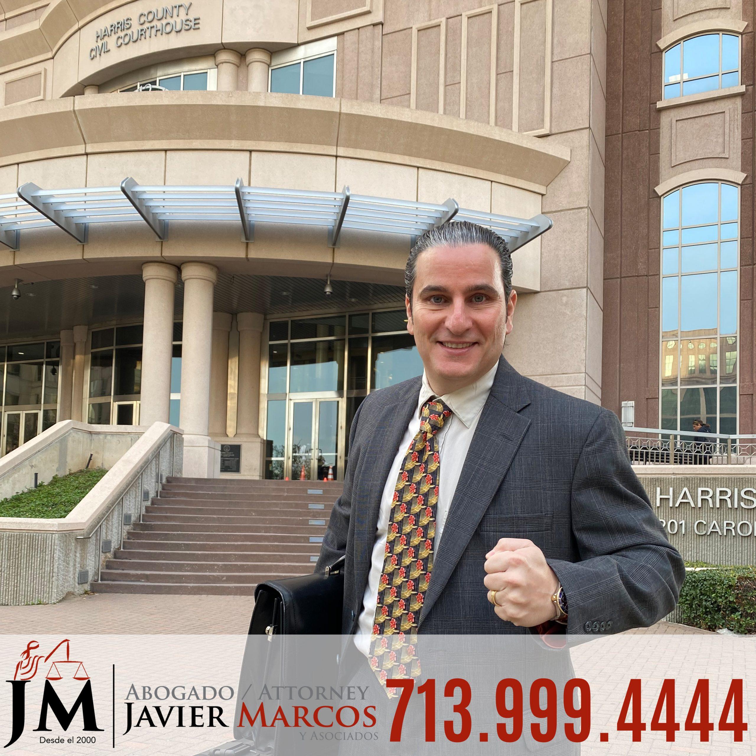 Abogado para Lesiones Personales | Abogado Javier Marcos | 713.999.4444