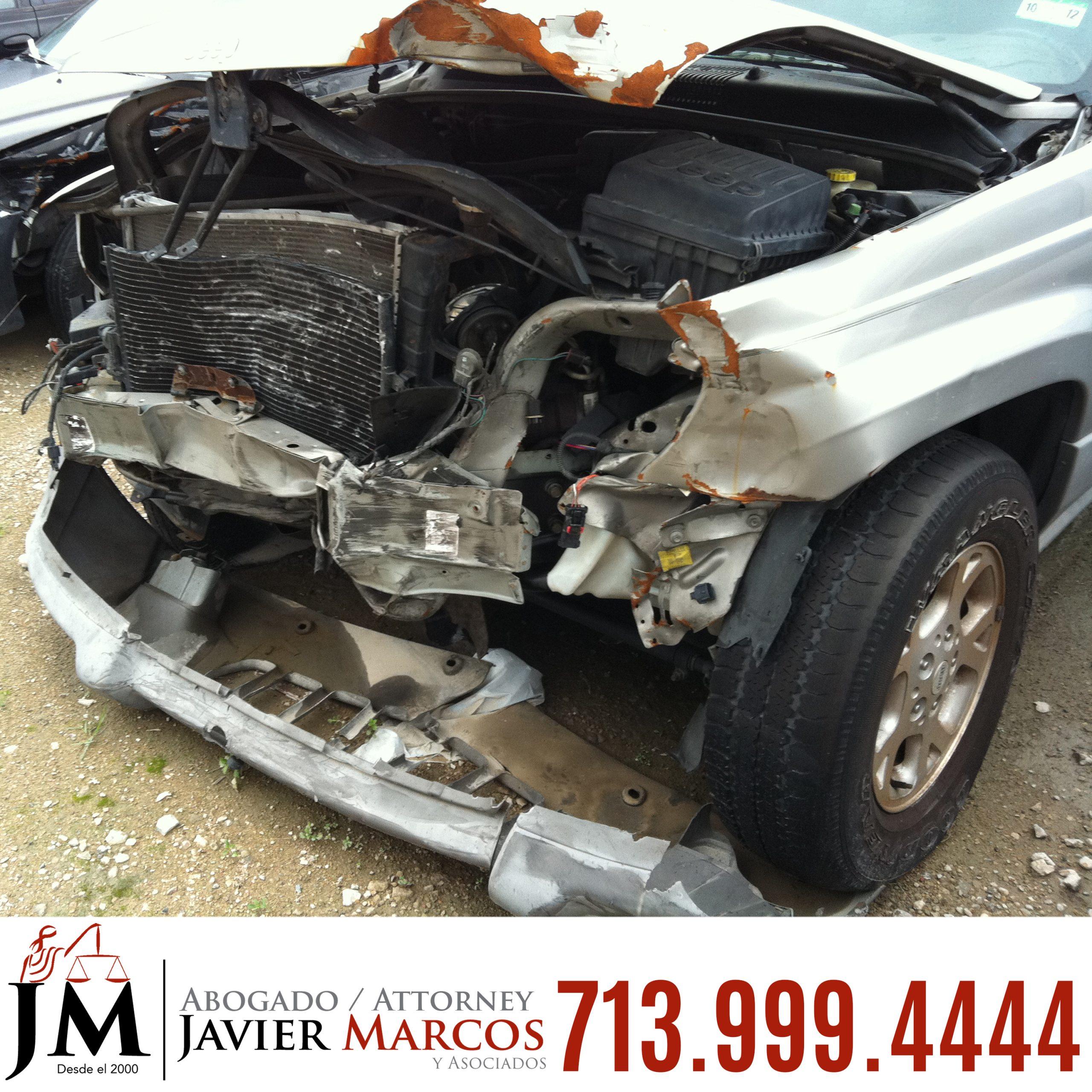 Abogado de Accidente Automovilistico | Abogado Javier Marcos | 713.999.4444