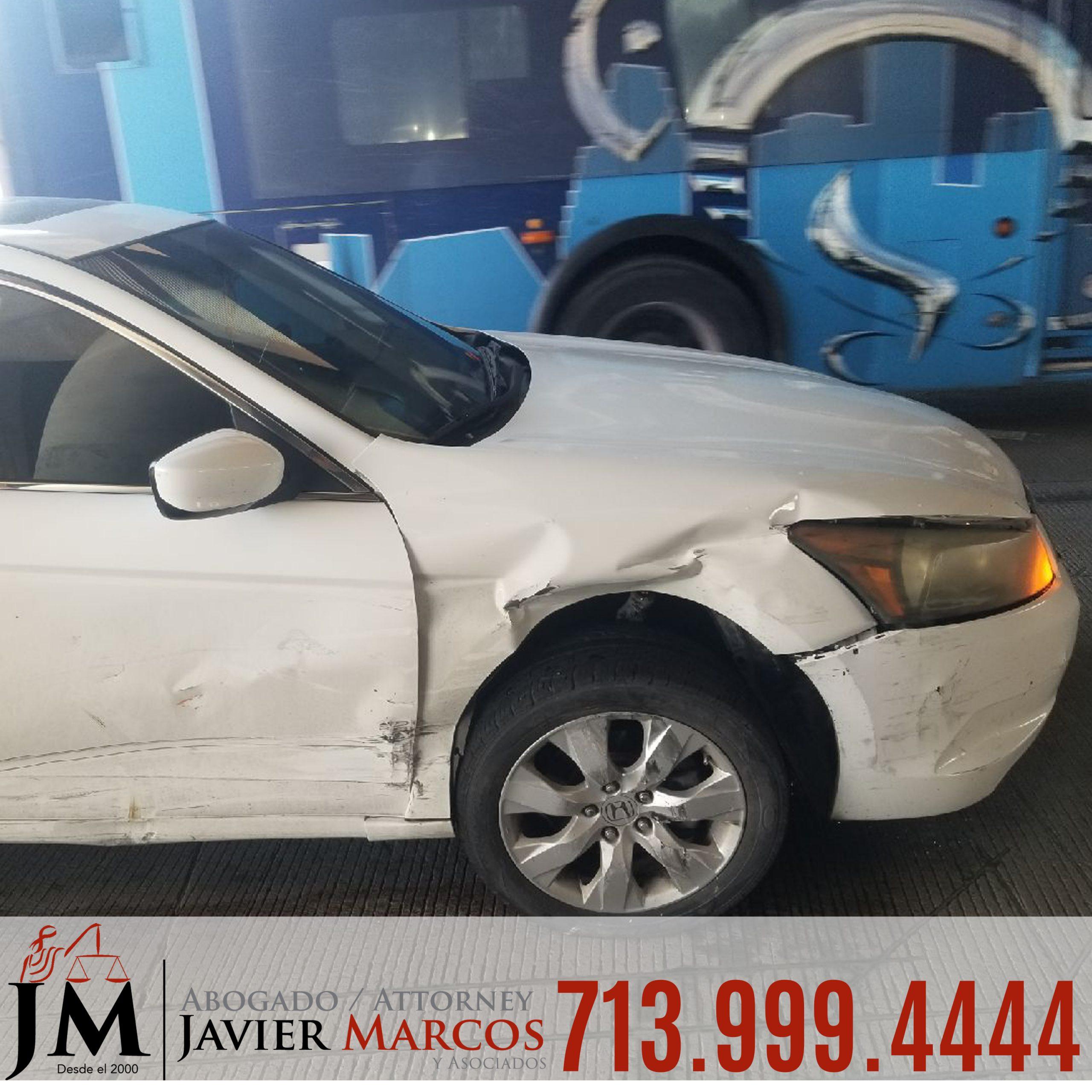 Reclamo de Accidentes Houston | Abogado Javier Marcos | 713.999.4444