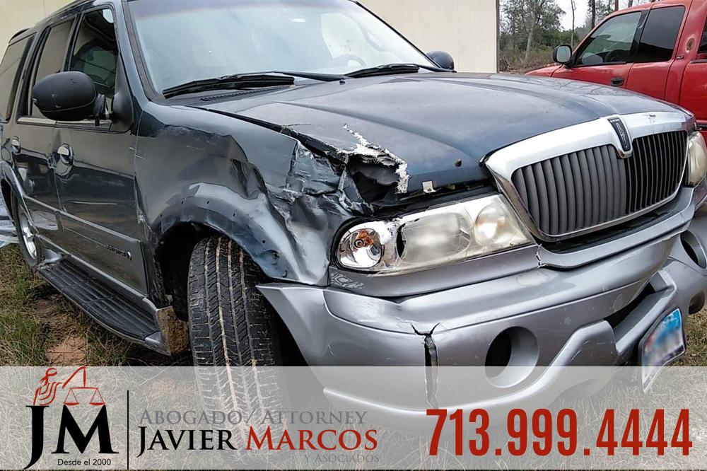 Reclamo de Accidente de Coche | Abogado Javier Marcos | 713.999.4444