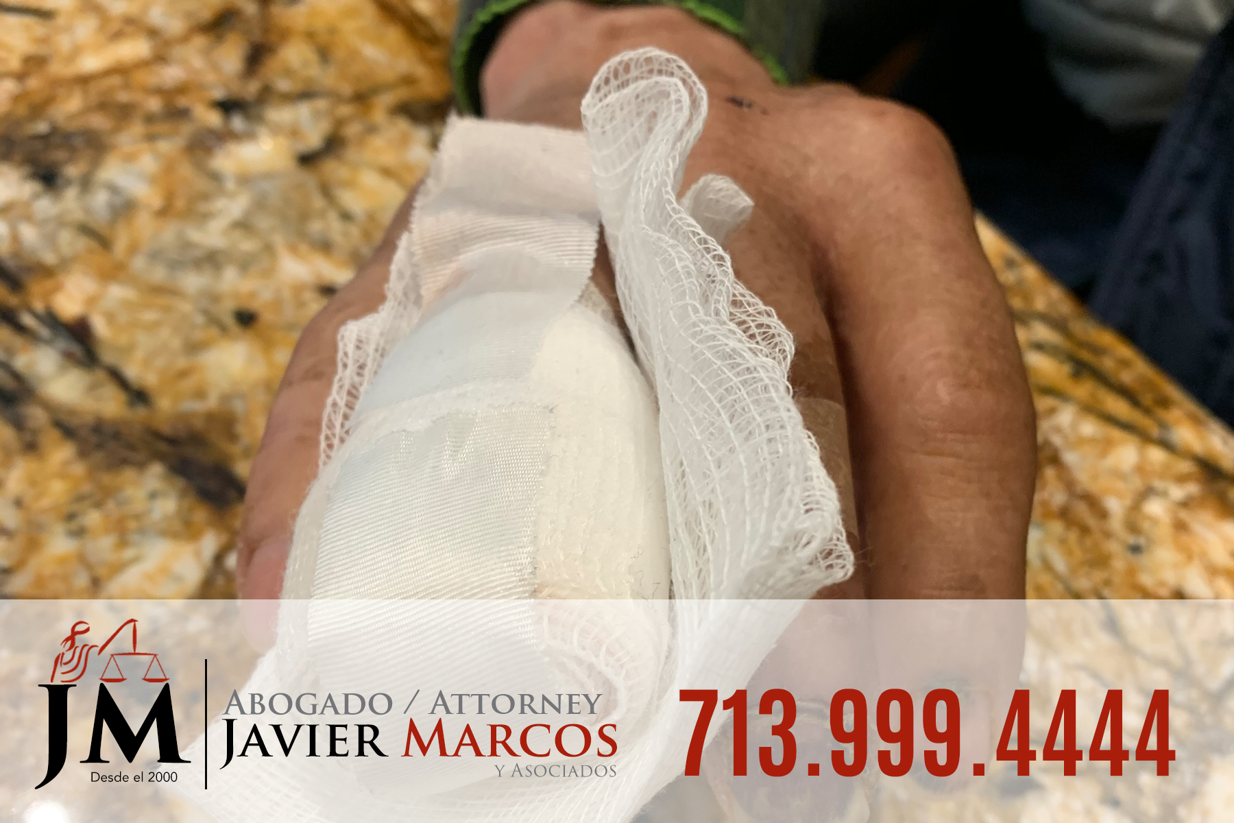 Dolor y sufrimiento en el trabajo | Abogado Javier Marcos | 713.999.4444