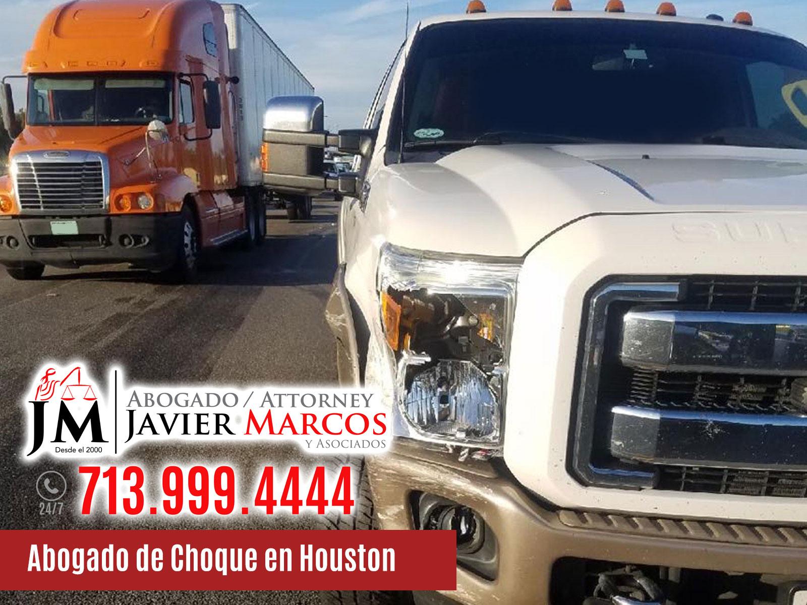 Abogado de Choque en Houston | Abogado Javier Marcos | 713.999.4444