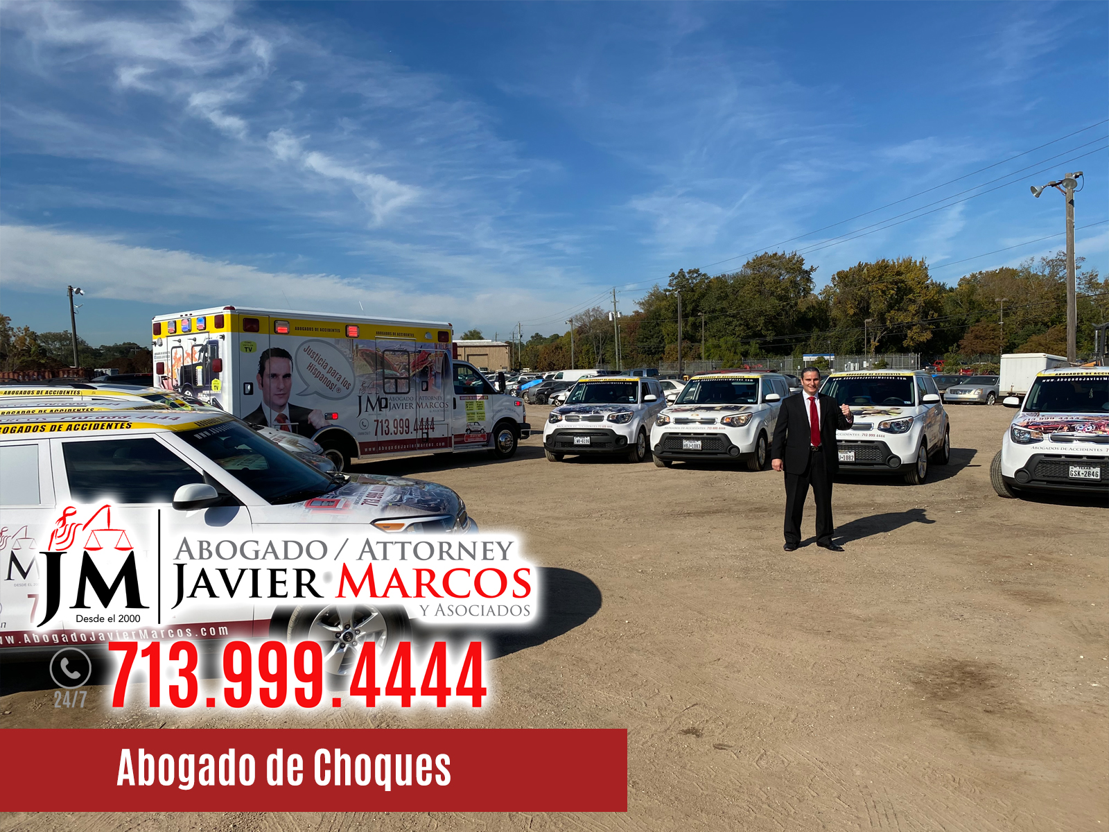 Abogado de choques | Abogado Javier Marcos | 713.999.4444