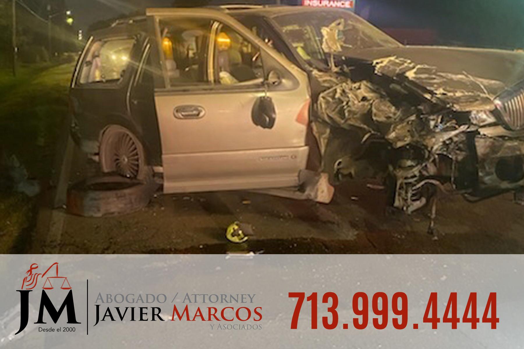 Dias despues del accidente de camion | Abogado Javier Marcos | 713.999.4444