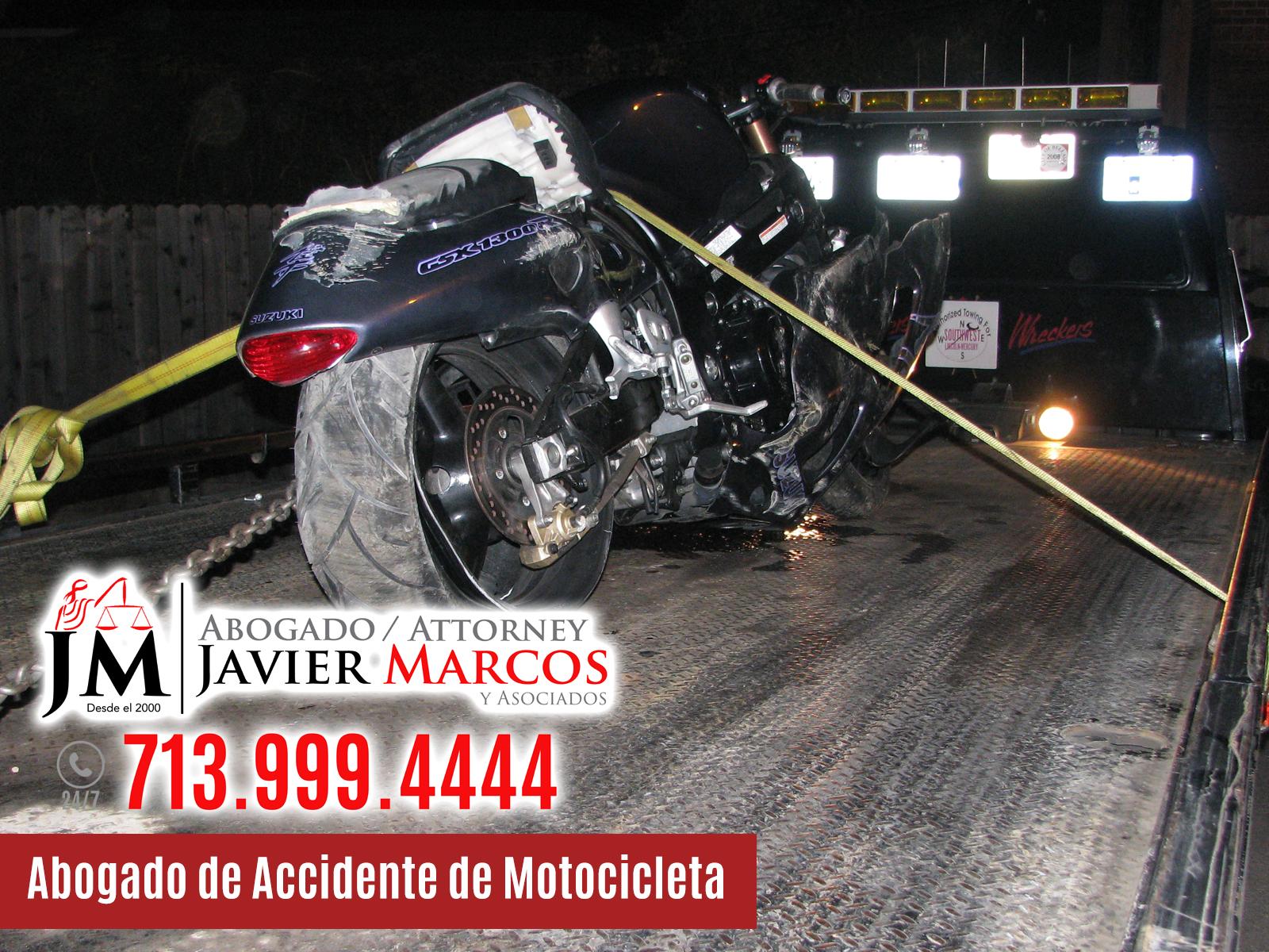 Abogado de Accidente de Motocicleta | Abogado Javier Marcos | 713.999.4444