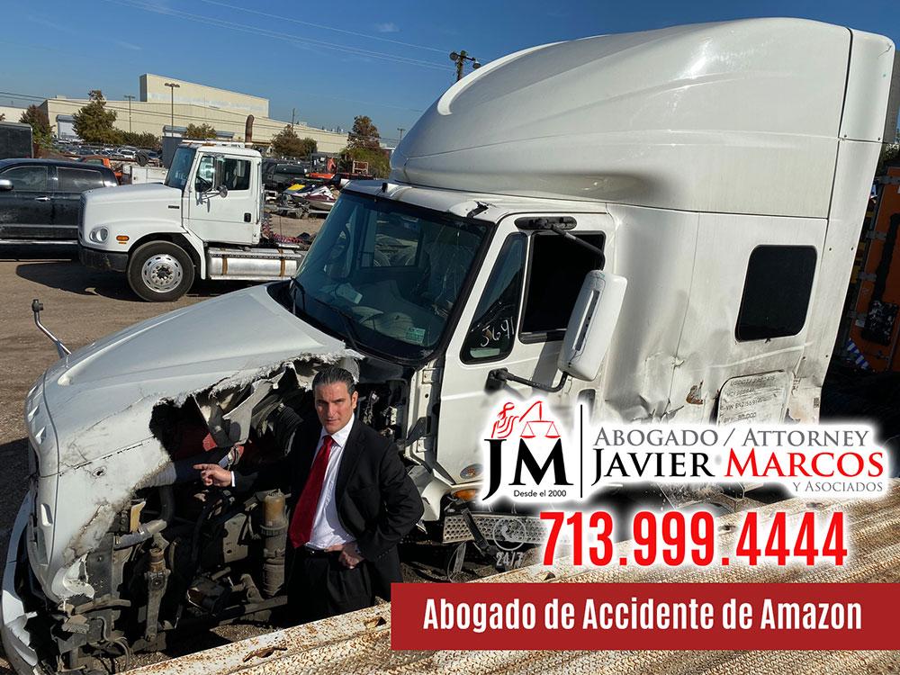 Abogado de Accidente de Amazon | Abogado Javier Marcos | 713.999.4444