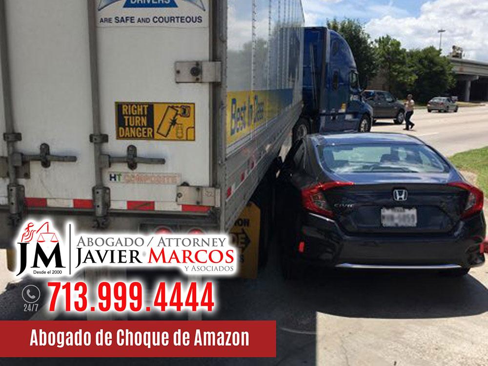 Abogado de Choque de Amazon | Abogado Javier Marcos | 713.999.4444