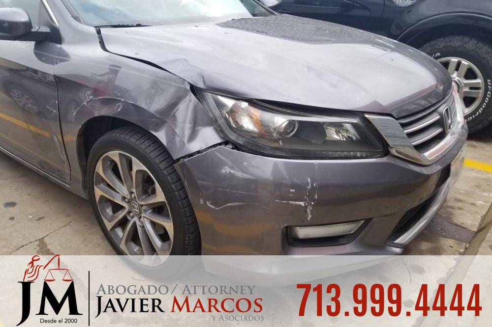 Accidente de auto en Texas   Abogado Javier Marcos   713.999.4444