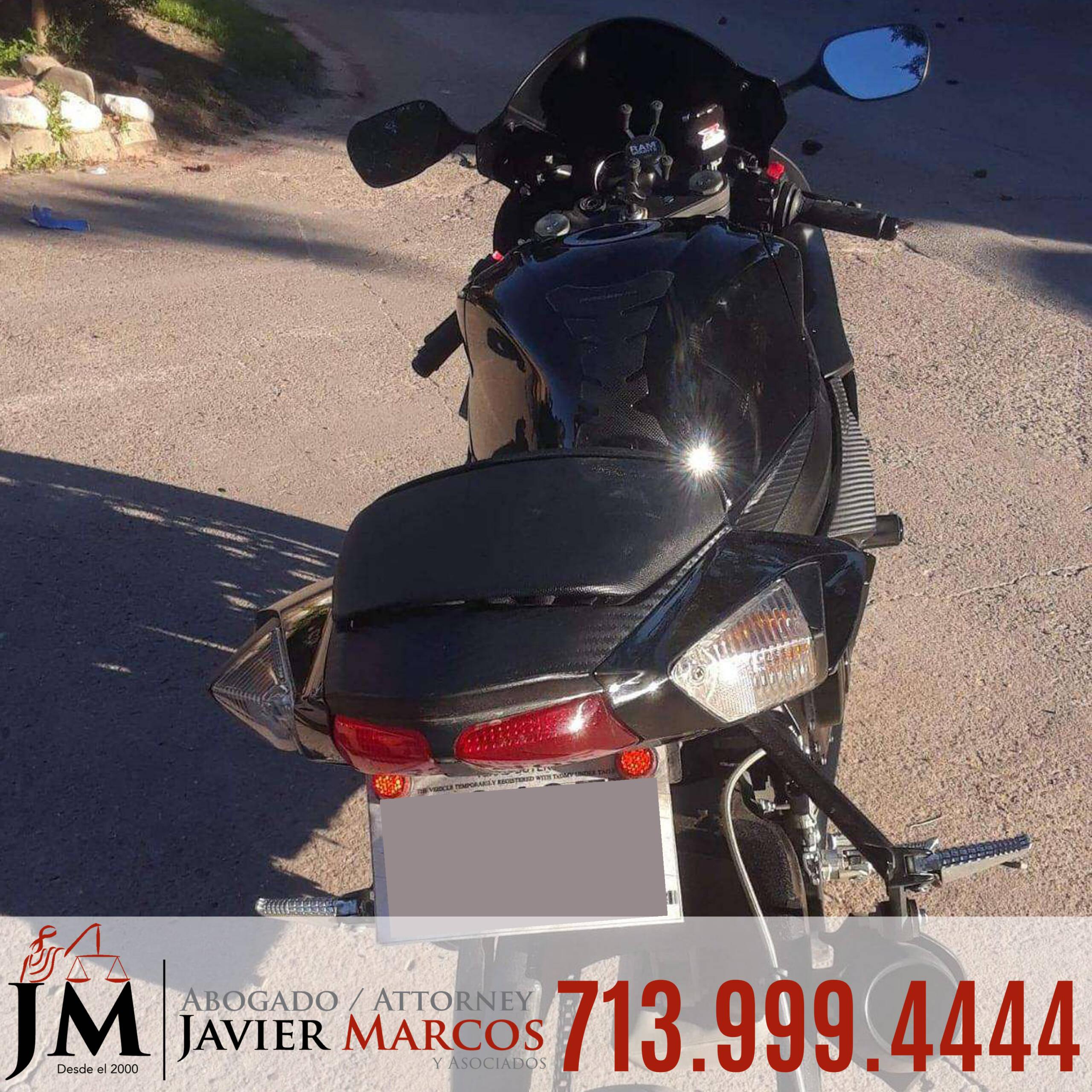 Conducir una motocicleta | Abogado Javier Marcos | 713.999.4444