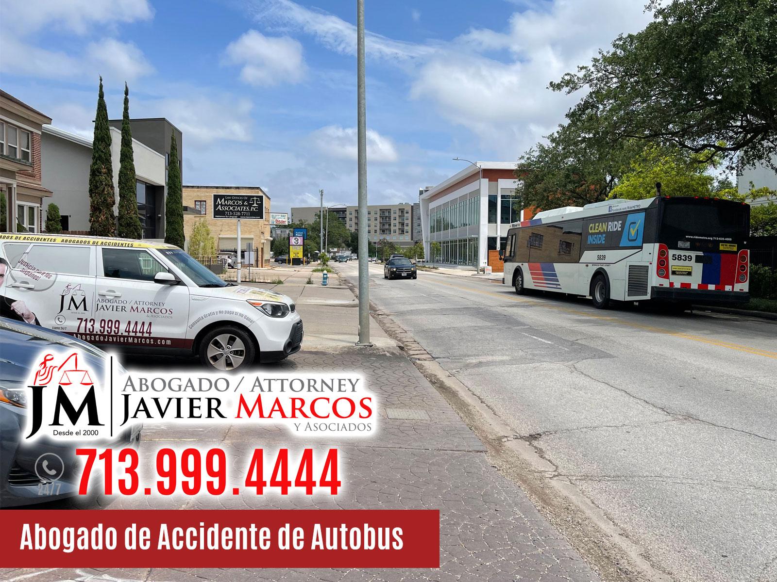 Abogado de Accidente de Autobus | Abogado Javier Marcos | 713.999.4444