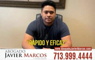 Testimonio de Abogado de Auto   Abogado Javier Marcos   713.999.4444